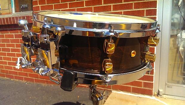 Yamaha Maple Custom Snare Gold Lugs