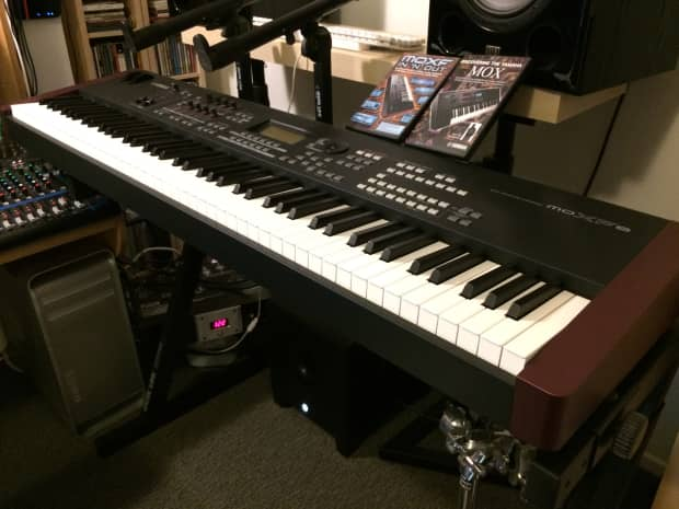 yamaha moxf8 music production synthesizer reverb. Black Bedroom Furniture Sets. Home Design Ideas