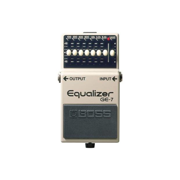 boss ge 7 graphic equalizer guitar pedal reverb. Black Bedroom Furniture Sets. Home Design Ideas