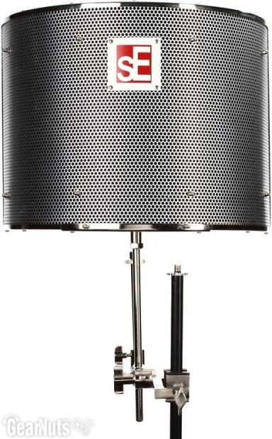 se electronics reflexion filter pro portable vocal booth reverb. Black Bedroom Furniture Sets. Home Design Ideas