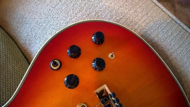 Fender Robben Ford Guitar 1993 Cherry Sunburst Rare Model