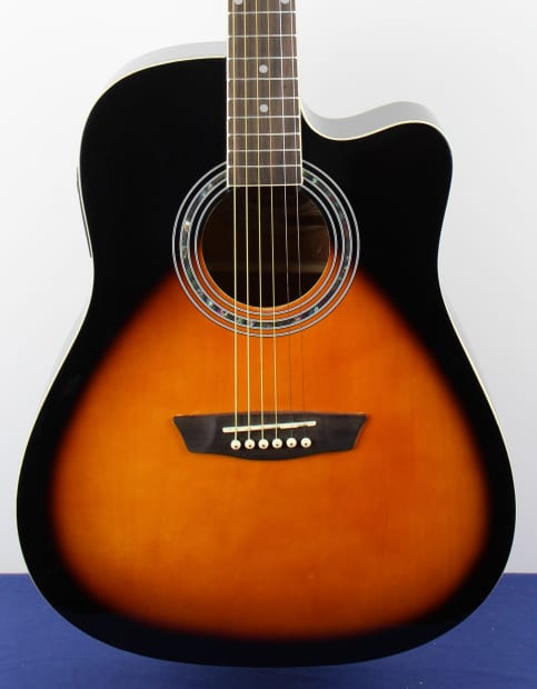 washburn wa90ce acoustic electric tobacco sunburst guitar reverb. Black Bedroom Furniture Sets. Home Design Ideas