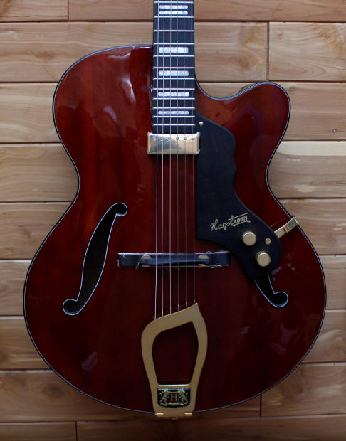 hagstrom hl 550 archtop electric guitar reverb. Black Bedroom Furniture Sets. Home Design Ideas