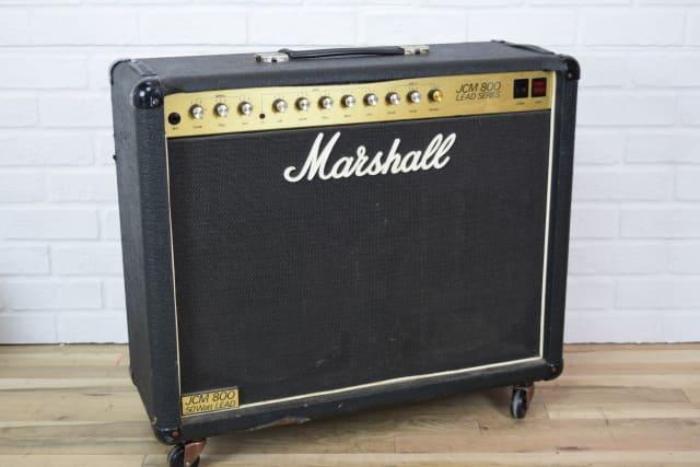 marshall jcm800 vintage 2x12 tube guitar amp combo used amplifier for sale audiofanzine. Black Bedroom Furniture Sets. Home Design Ideas
