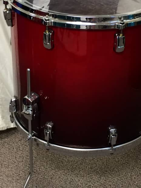 Pearl reference drums 18 x 16 floor tom on legs 155 for 16 floor tom