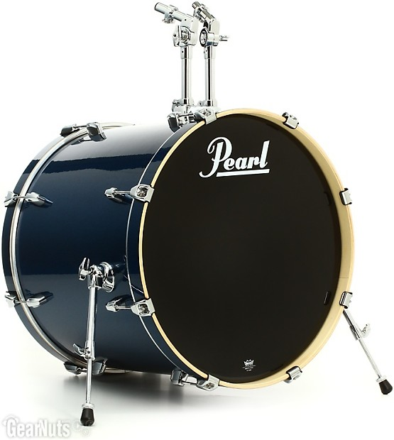 pearl export exx 5 piece drum set with hardware fusion reverb. Black Bedroom Furniture Sets. Home Design Ideas