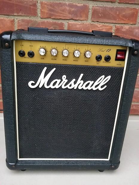 marshall 5005 lead 12 combo amp 87 reverb. Black Bedroom Furniture Sets. Home Design Ideas