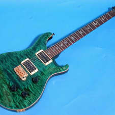 Paul Reed Smith Custom 24 10 Top, Birds 2006 Emerald Green image