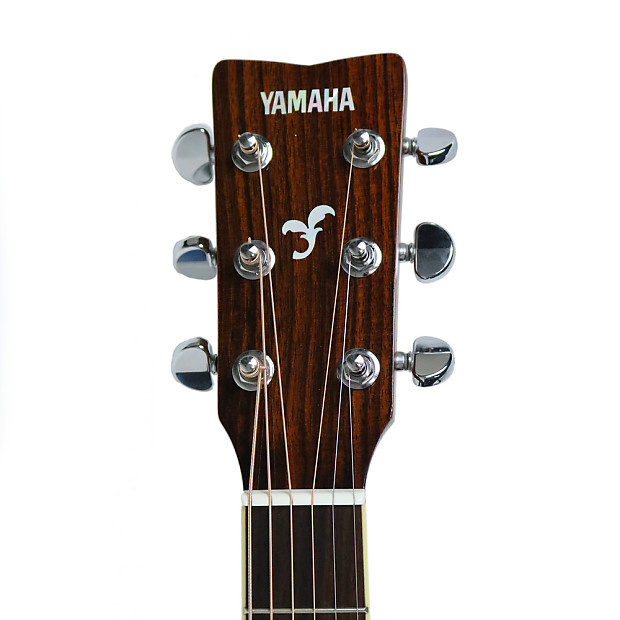 Used yamaha fgx720sca acoustic electric guitar in brown for Yamaha acoustic electric guitar