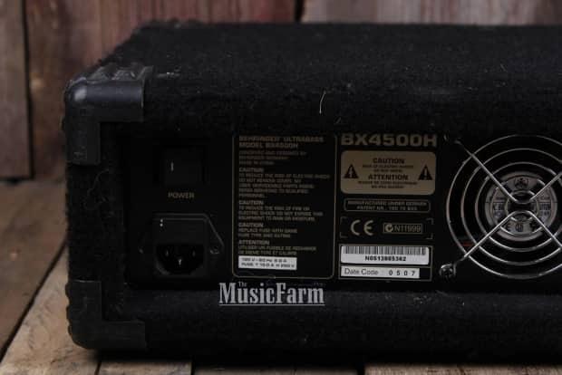 behringer ultrabass bx4500h electric bass guitar amplifier reverb. Black Bedroom Furniture Sets. Home Design Ideas