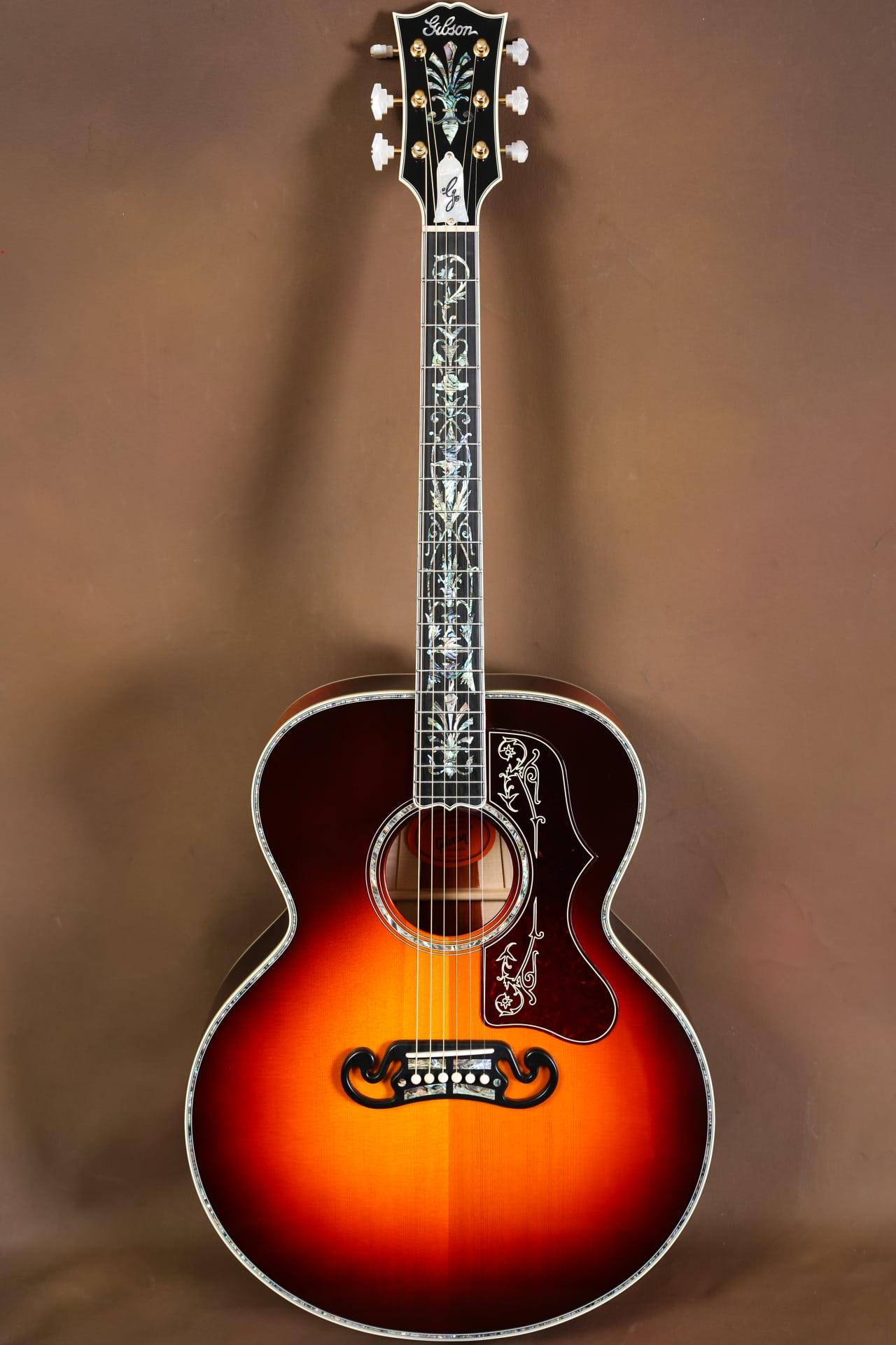 2016 gibson sj 200 gallery custom vine acoustic guitar j 200 reverb. Black Bedroom Furniture Sets. Home Design Ideas