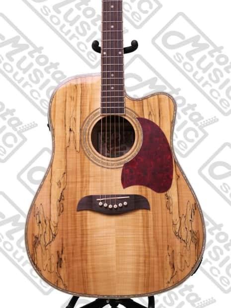 Oscar Schmidt Acoustic/Electric Dreadnought Guitar ...