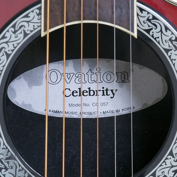 Ovation Celebrity CC 057 Acoustic/Electric Guitar (Greece ...