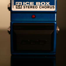 DOD FX64 Ice Box Stereo Chorus 1990's Lake Placid Blue image