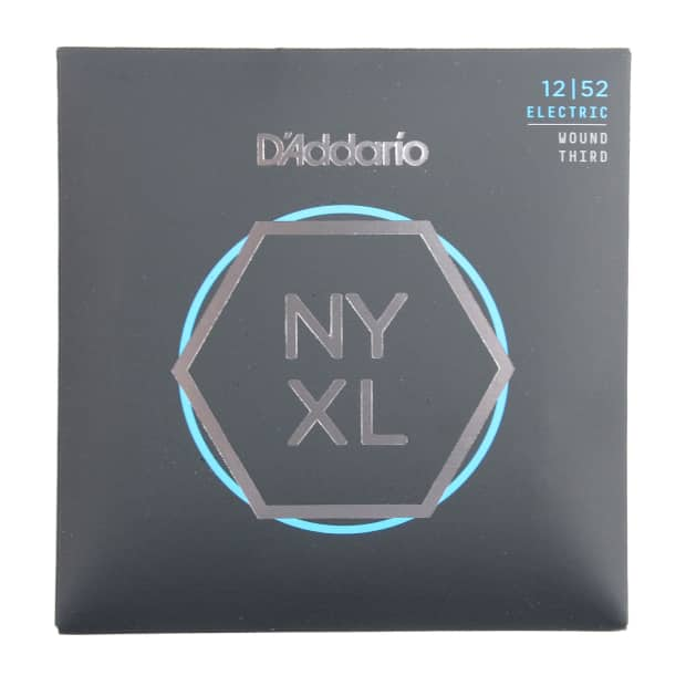 Addario NYXL Electric Guitar Strings Lite Wound Third 12-52 image
