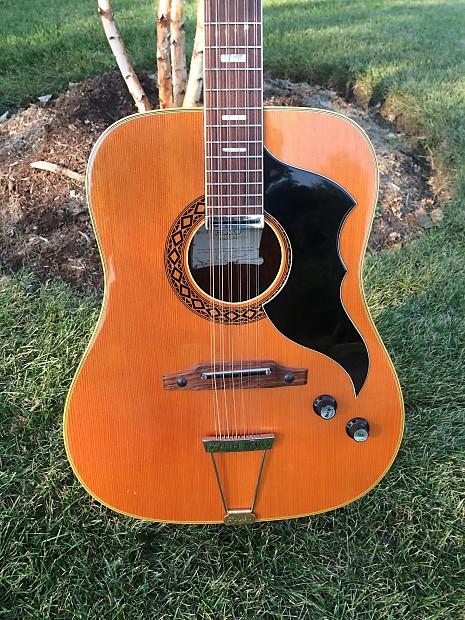 vintage eko ranger 12 string electric acoustic 1960 39 s reverb. Black Bedroom Furniture Sets. Home Design Ideas