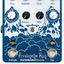 EarthQuaker Devices Avalance Run Delay and Reverb Pedal image