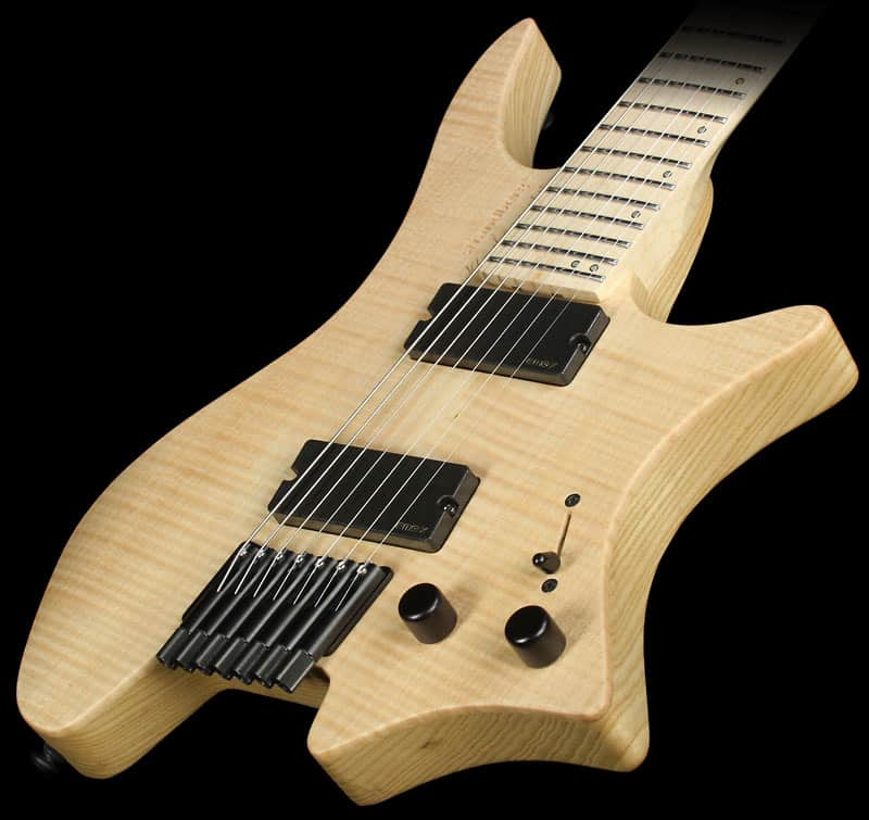 Strandberg boden os 7 electric guitar satin natural reverb for Strandberg boden 7