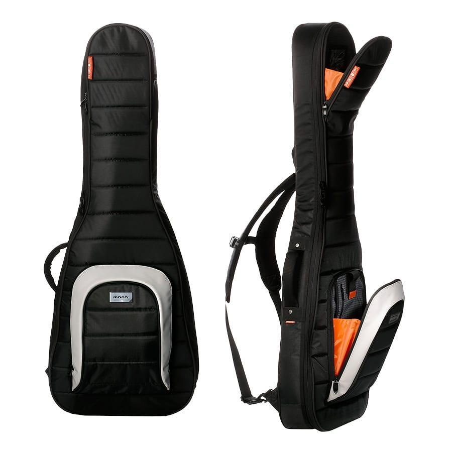 mono case m80 electric guitar case jet black reverb. Black Bedroom Furniture Sets. Home Design Ideas