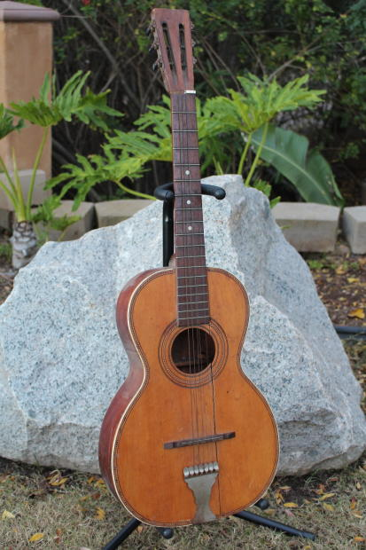 Vintage 1920s Regal Quot Rope Quot Acoustic Parlor Guitar Project