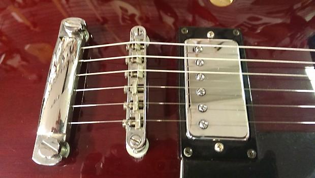 samick la 30 tb maroon hollow body electric guitar dual reverb. Black Bedroom Furniture Sets. Home Design Ideas