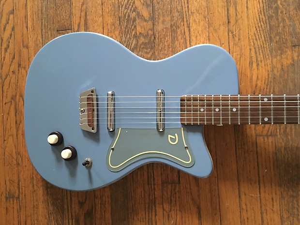 Danelectro '56 Reissue U2 Electric Guitar 2001 Azure Blue