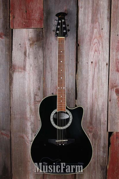 Acoustic Electric - Rosewood Acoustic Electric Guitar - 2