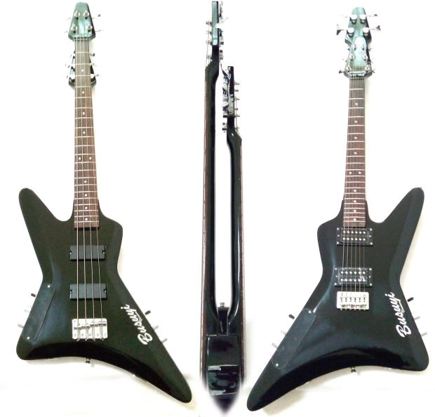 4 string bass 6 string lead double neck double sided busuyi guitar reverb. Black Bedroom Furniture Sets. Home Design Ideas