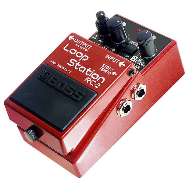 boss rc 3 loop station pedal bundle red reverb. Black Bedroom Furniture Sets. Home Design Ideas