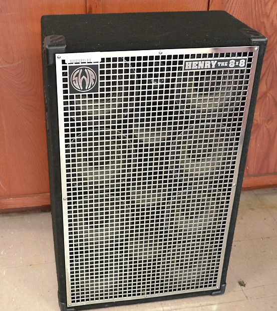 Swr Henry The 8x8 Bass Speaker Cabinet 8x8 Quot 480w Local