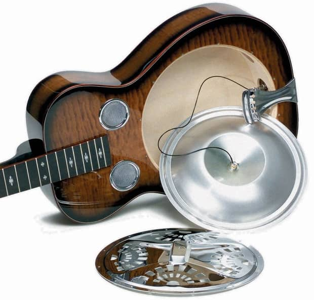 fishman active resophonic resonator guitar dobro pickup reverb. Black Bedroom Furniture Sets. Home Design Ideas