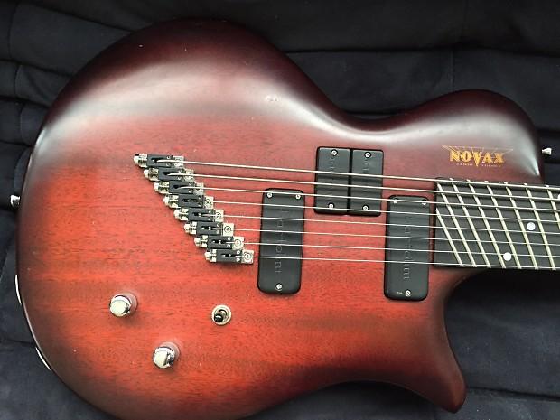 novax charlie hunter 8 string fanned fret guitar bass reverb. Black Bedroom Furniture Sets. Home Design Ideas