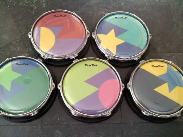 ram pad custom practice drum pad reverb. Black Bedroom Furniture Sets. Home Design Ideas