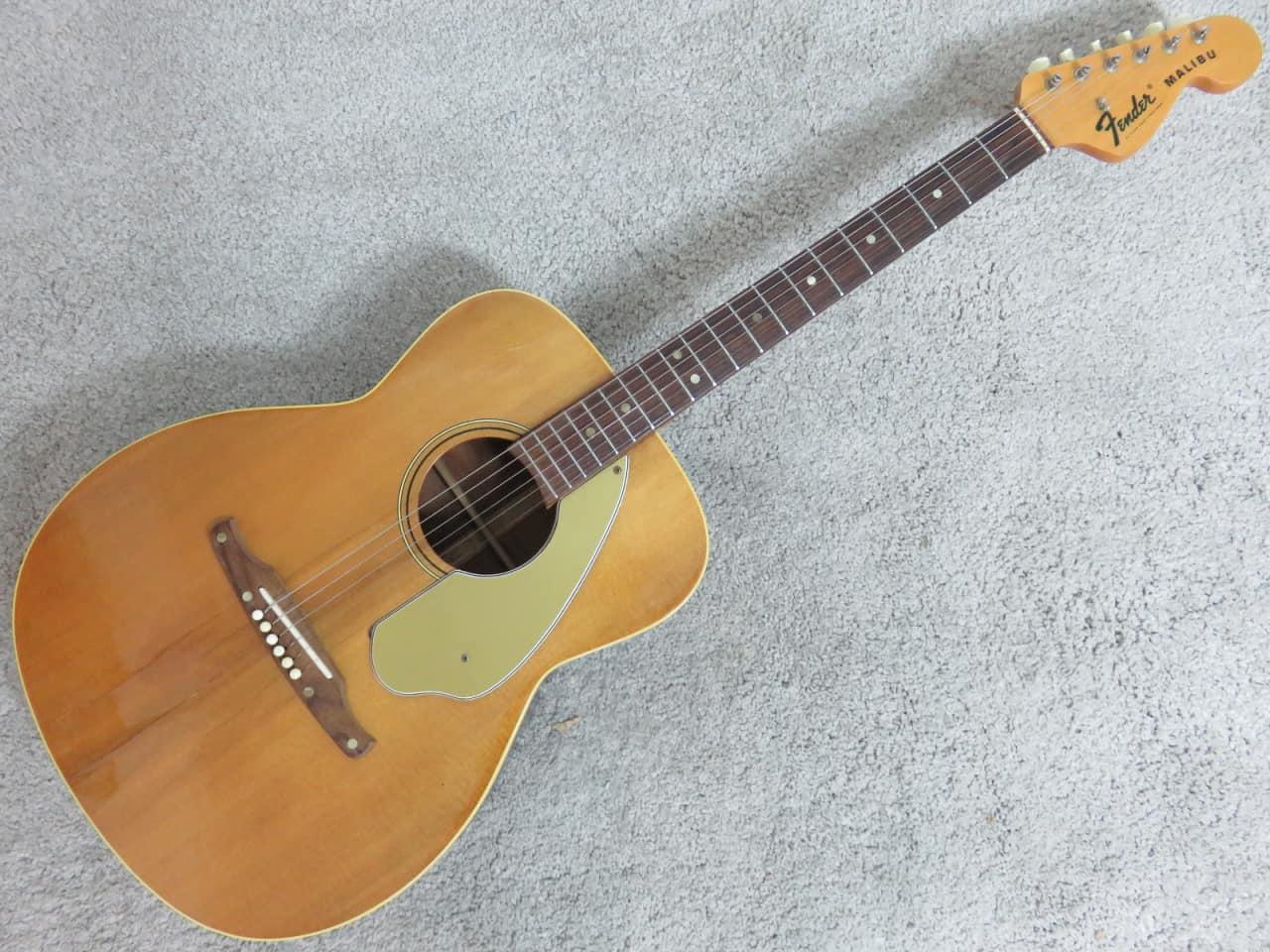Vintage 1965 Fender Malibu Acoustic Guitar Secret Weapon
