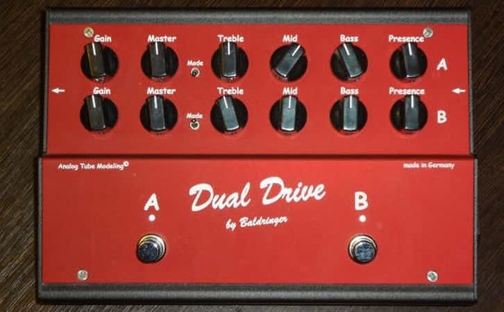 baldringer dual drive simply the best dual overdrive pedal reverb. Black Bedroom Furniture Sets. Home Design Ideas