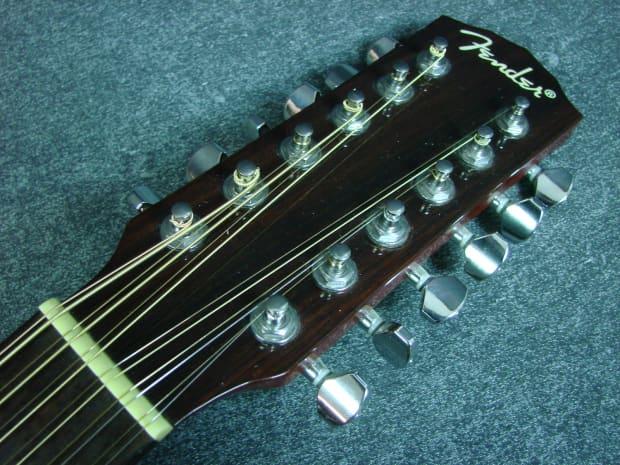 Fender Dg 16e 12 12 String Acoustic Electric Guitar W Bag