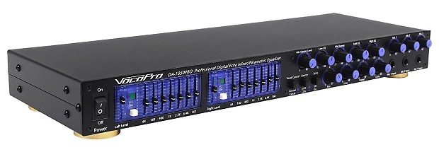 Vocopro DA-1055 Professional Karaoke Mixer / Mic Pre - Amp ...