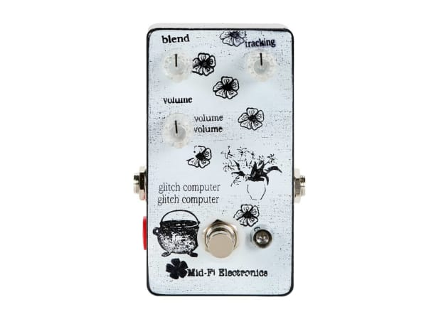 mid fi electronics glitch computer octave fuzz white demo reverb. Black Bedroom Furniture Sets. Home Design Ideas
