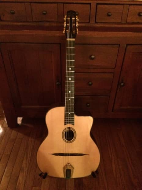 Ald Original 2013 Gypsy Guitar Selmer Style Reverb