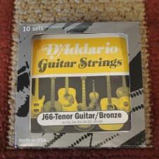 D'Addario Tenor Guitar J66 10 PACK 80/20 Bronze image
