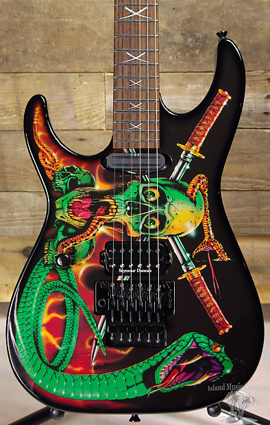 Esp George Lynch Signature Skulls Amp Snakes Left Handed