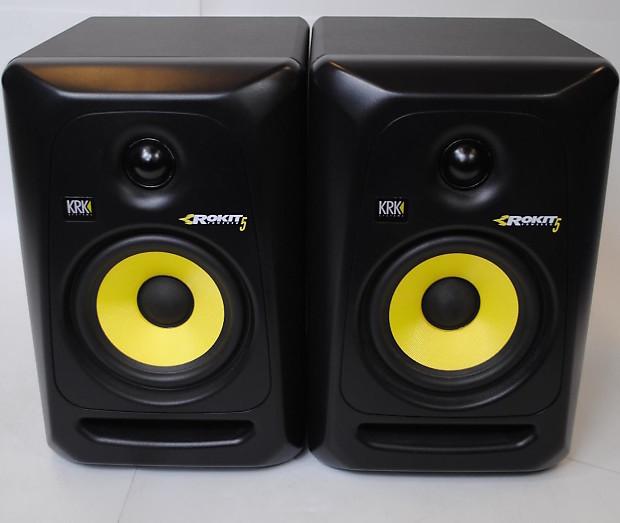krk rokit 5 rp5 g3 powered studio monitor single reverb. Black Bedroom Furniture Sets. Home Design Ideas