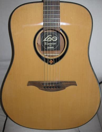 lag t66d acoustic dreadnought guitar w case reverb. Black Bedroom Furniture Sets. Home Design Ideas