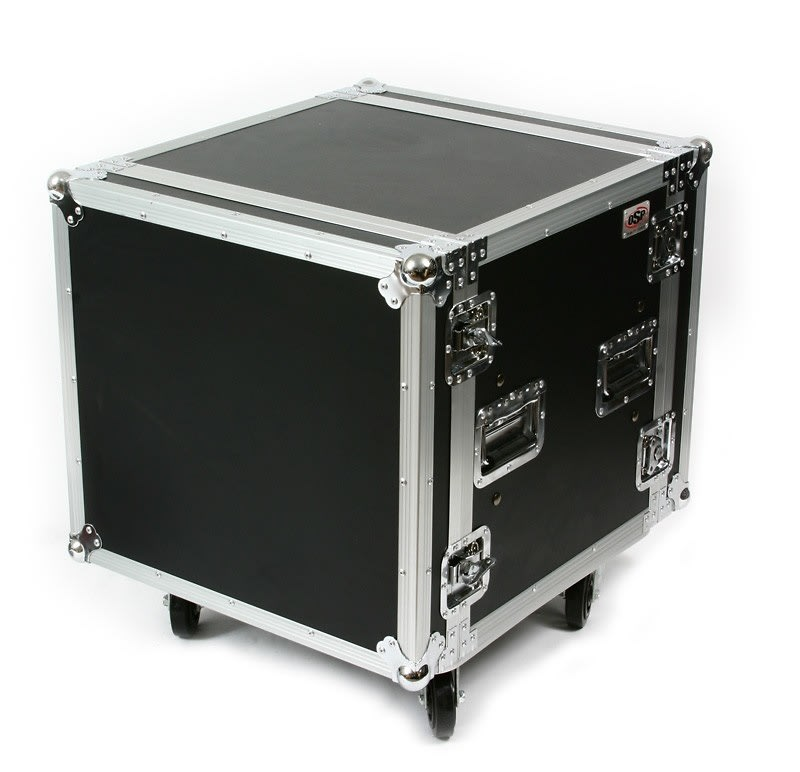 OSP SC10U-20 10 Space ATA Shock Amp Rack w/Casters
