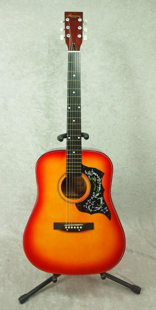 Capitol Auto Sales >> Harmony Hummingbird 01010 copy acoustic guitar | Reverb