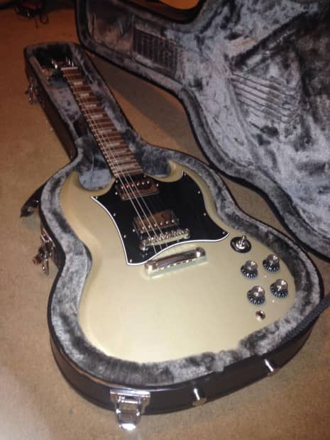 epiphone sg 400 pro 2013 tv silver this listing will end reverb. Black Bedroom Furniture Sets. Home Design Ideas