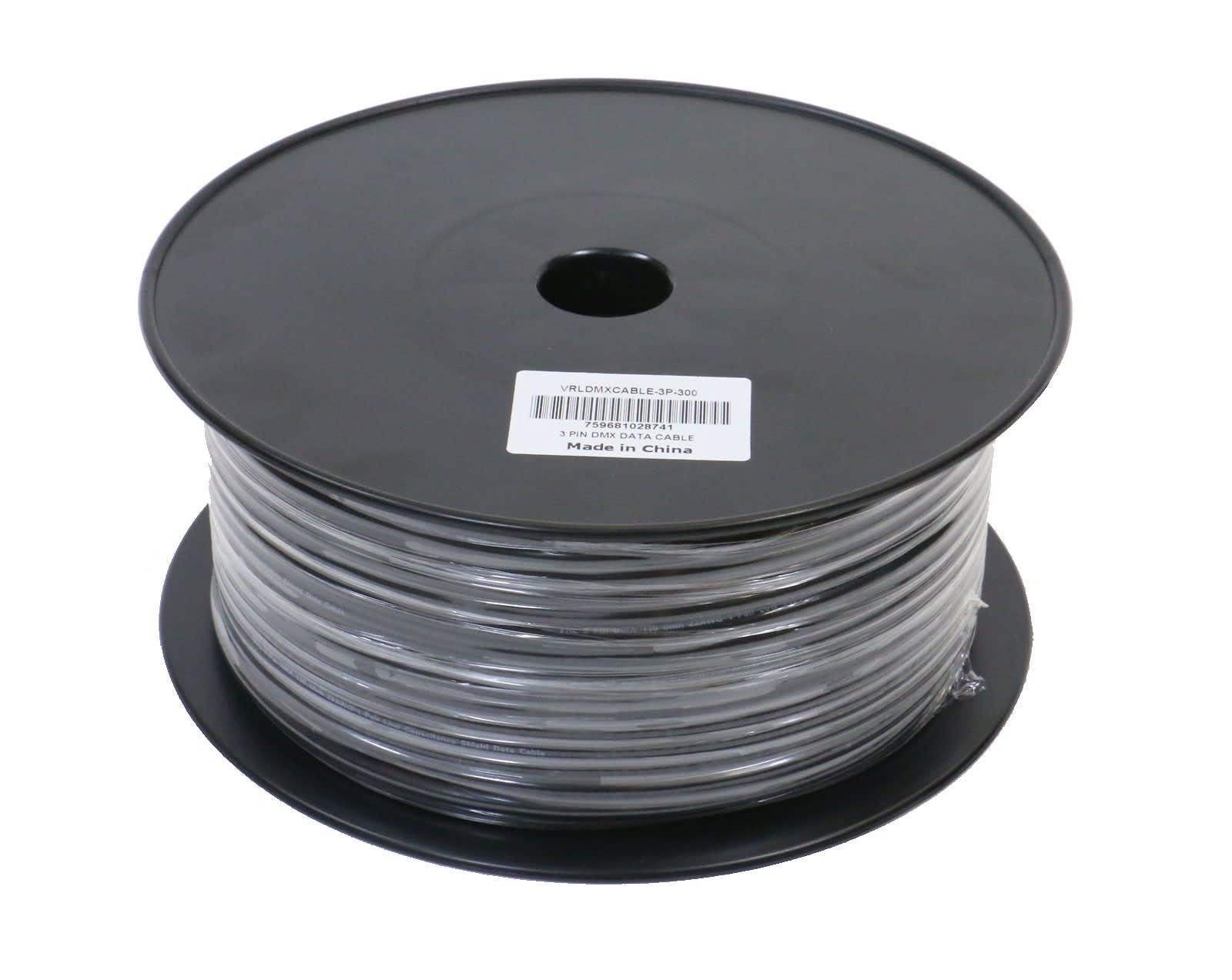 VRL VRLDMXCABLE-5P-300 5 Pin DMX Cable 300' Bulk Spool