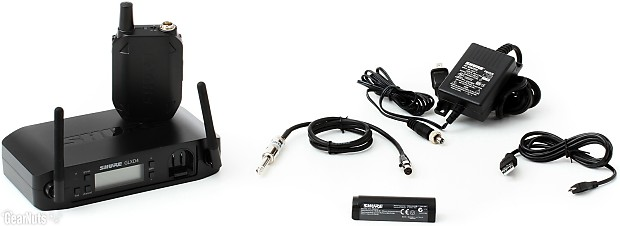 shure glxd14 guitar bass digital bodypack wireless system reverb. Black Bedroom Furniture Sets. Home Design Ideas