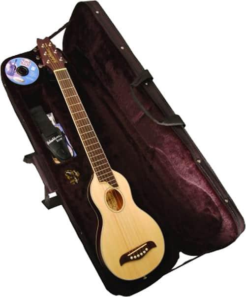 Washburn RO10 Natural Steel String Travel Acoustic Guitar ...