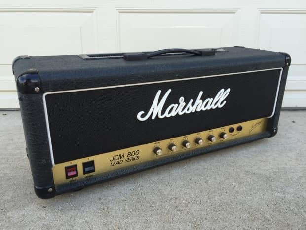 marshall jcm 800 2203 master model lead guitar tube amp head reverb. Black Bedroom Furniture Sets. Home Design Ideas